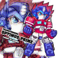 TF-Boy Cool Optimus by zaionic