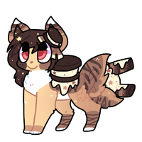 Ice cream sandwich puppy auction CLOSED by puqqie