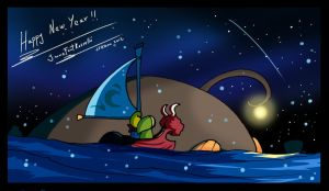 Wind Waker Happy New Year by JFRteam