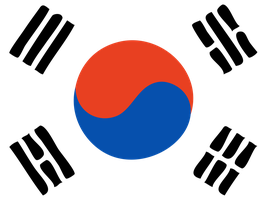 SOUTH KOREAN FLAG by CHRISwillar