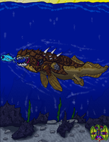 Dunkleosteus Rahtouria by UltimateRidley