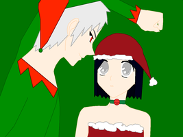 Cristmas with Prussia Elf by kisshugirl