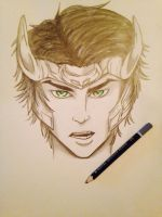 Young Loki by DreamingInColorGuard