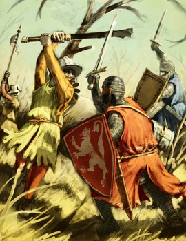 High Medieval Clash by LordGood