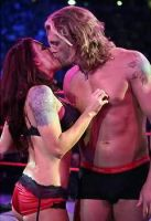 Edge + Lita Hot Moment by englishxmuffin