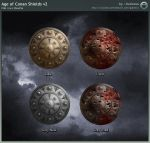 Age of Conan Shields v2 by Oulixeus
