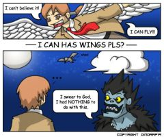 I Can Has Wings Pls? by dinorap19