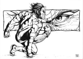 Wolverine WIP2 ink by rafater