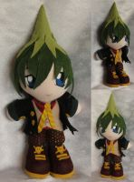 Commission, Mini Plushie, Amaimon by LadyoftheSeireitei