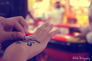 Henna Butterfly by afifahzahwa