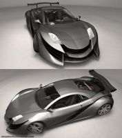 XR-Z Concept Car 2 by MeganeRid