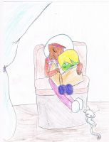 young Brainy and Triplicate Girl by littlehobbitdancer