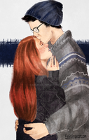 Harry and Ginny by Ezelie