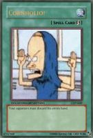 CORNHOLIO card by okamilord