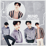 Pack Png 037 // Suho (EXO). by xAsianPhotopacks