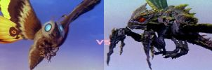 Mothra vs Megagurirus by Ltdtaylor1970