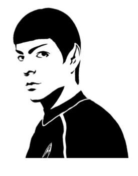 Spock Stencil 2 by MCRizLIFE