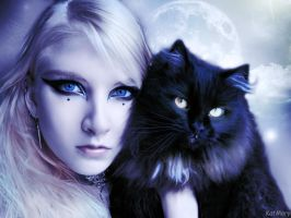 Friends of the night by katmary