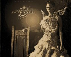 The Hunger Games: Catching Fire. Katniss by StalkerAE