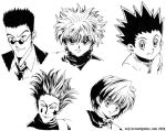 Hunter x Hunter - Inked by rajlorcan