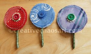 Buttonholes Take 2 by bicyclegasoline