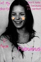 Kate Moss (what I do when I'm bored) by fiirsttherain