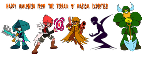 TOME: Halloween Costumes 2014 by Kirbopher15