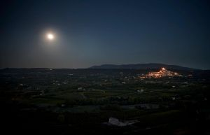 Luberon Full Moon by Pensquared4life