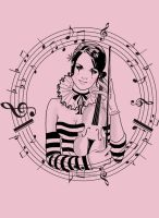 Musical Muse - Pretty in Pink by LibertyBella