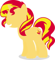 Sunset shimmer vector by sumw1