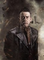 John Hurt - Doctor Who 50th Anniversary Manip by SkinnyGlasses