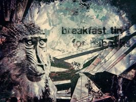 Breakfast Time For Baboons by vincentvc