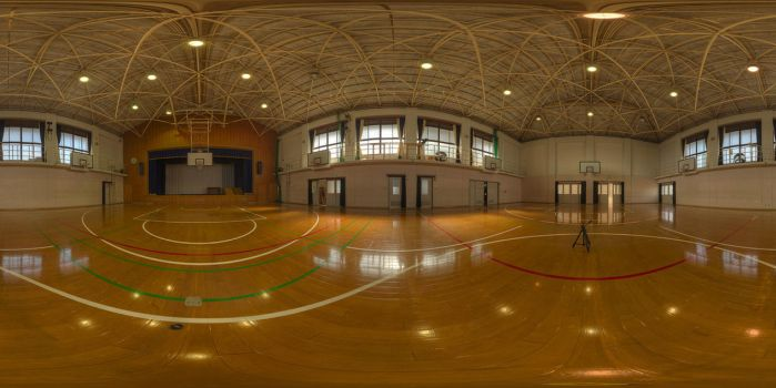 HDRI No.43 School Gym by Ketsuo-MiuraReiko