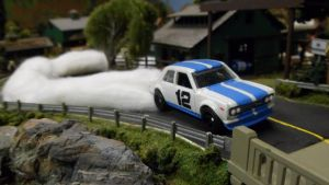 Flying Datsun Bluebird #12 by hankypanky68