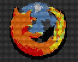 Firefox Lego Mapped by drsparc