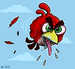 Angry Bird by Splapp-me-do