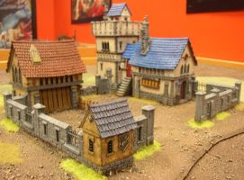 Fortified manor by 6and7eighths