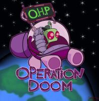 Invader Zim OHP Poster Version by kamy2425