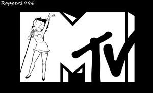 MTV with Betty Boop by Rapper1996