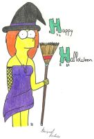 Hayley on Halloween by FamilyGayFanGirl