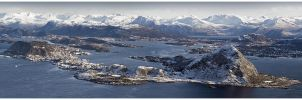 Aalesund Panorama 2 by dr-phoenix