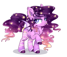 Sunset Bat (Sparkly) by Silent-Shadow-Wolf