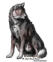 Cuscino the wolf by FuriarossaAndMimma