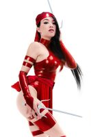 Linda Le as Elektra by DrVillain