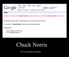 Chuck Norris by HuskyHugs