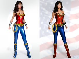 Wonder Woman Adrianne Palicki by P2Pproductions