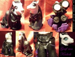 My little Pony Custom Count von Krolock by BerryMouse