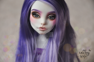 Eva (OOAK Monster High Spectra Vondergeist) by theugliestwife