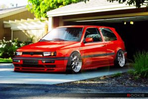 VW golf mk III by rookiejeno