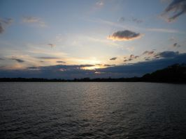 Water sunset stock by asphyxiate-Stock